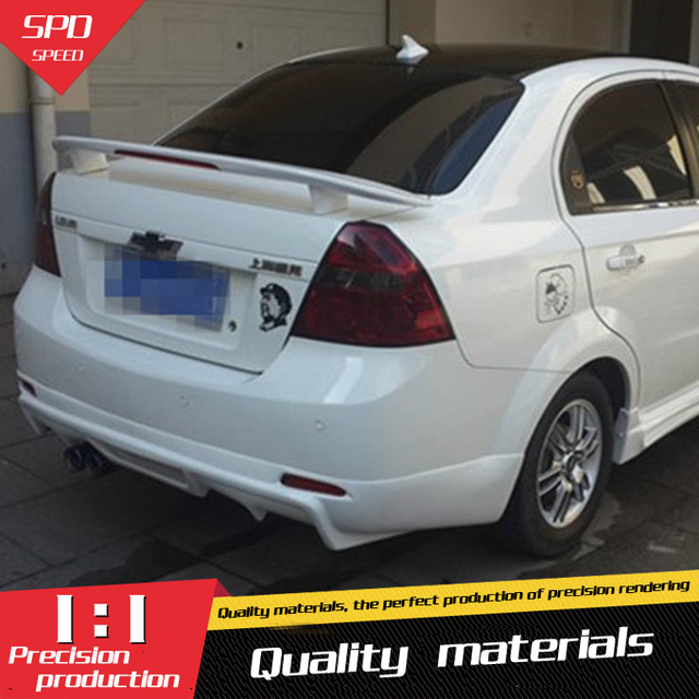 For Chevrolet Lova Spoiler The Middle East Abs Material Car Rear