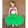 Niñas bebés Vestido de Cosplay The Little Mermaid Princess Tutu Para El Cumpleaños/Hallowween/Partido de La Muchacha del Vestido De Bola Boutique Tutu Dress