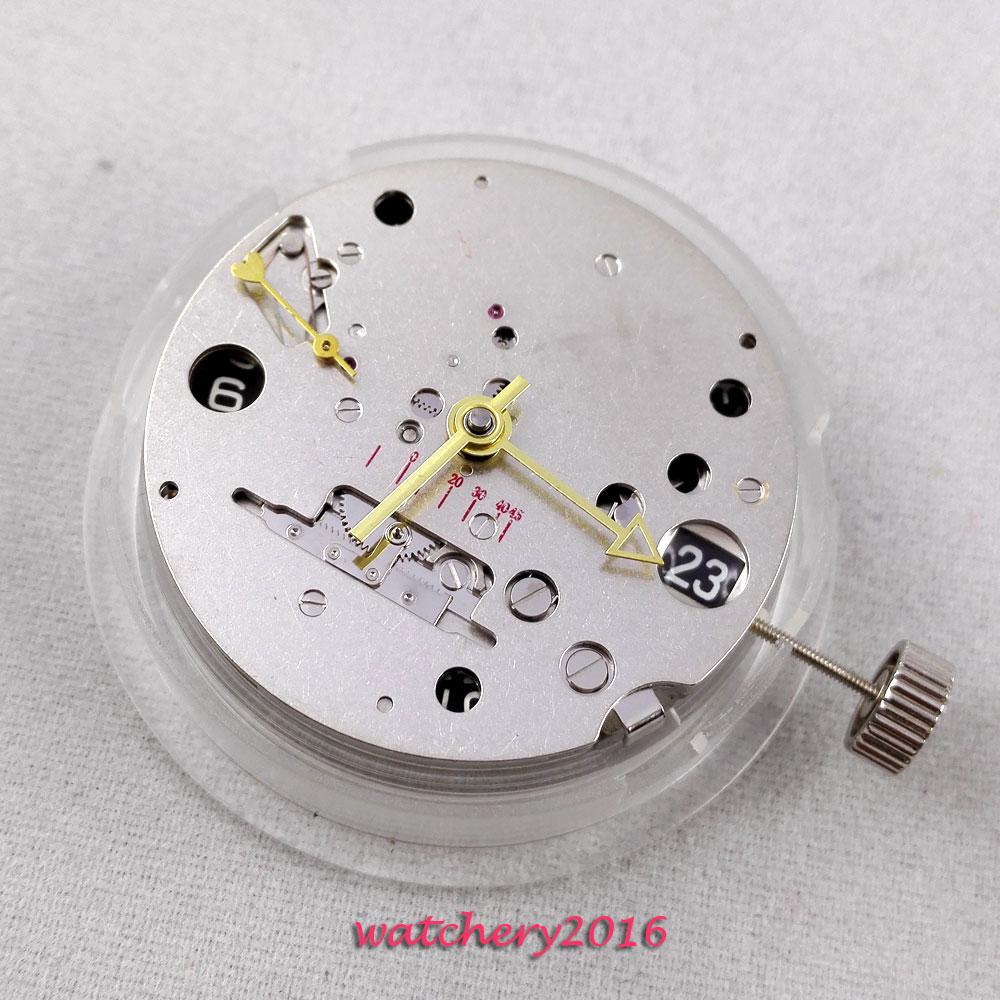 71819309a7e Novo ST 2533 data de reserva de energia GMT movimento mecânico automático  movimento do relógio Dos