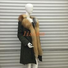 free shipping women real fur coat popular luxury fox vest fashion parks red warm winter outerwear