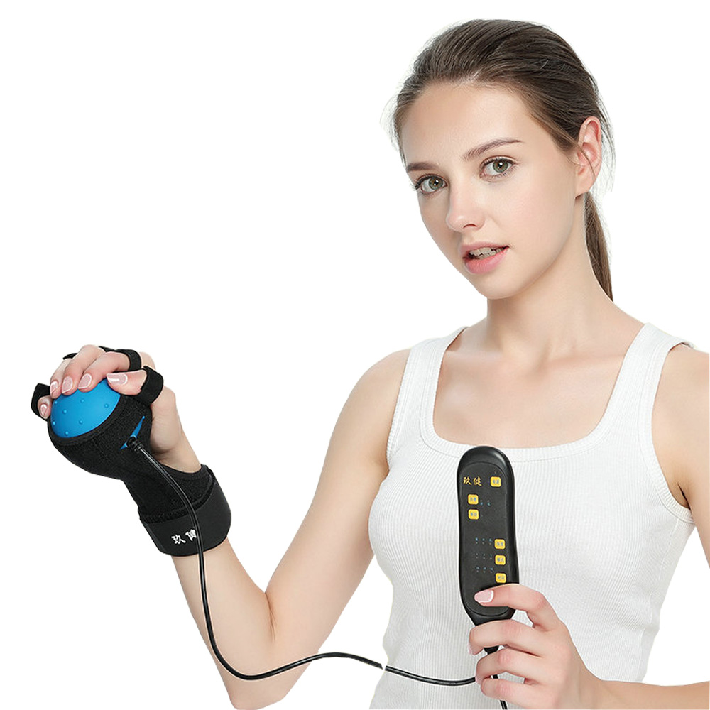 Electric Finger Hand Rehabilitation Exercise Ball Grip Gripper Ball Muscle Power Training Rubber Gripping Ball For