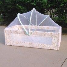 Детская колыбель Складная москитная сетка с самоподдерживающим кронштейном навес Складная Анти-палатка сетка для малышей Детская кроватка сетка