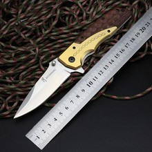 Folding Knife Browning Pocket Knife 440 Blade Steel Handle Survival Hunting Knifes Tactical Camping Knives Outdoor Tools ZB04