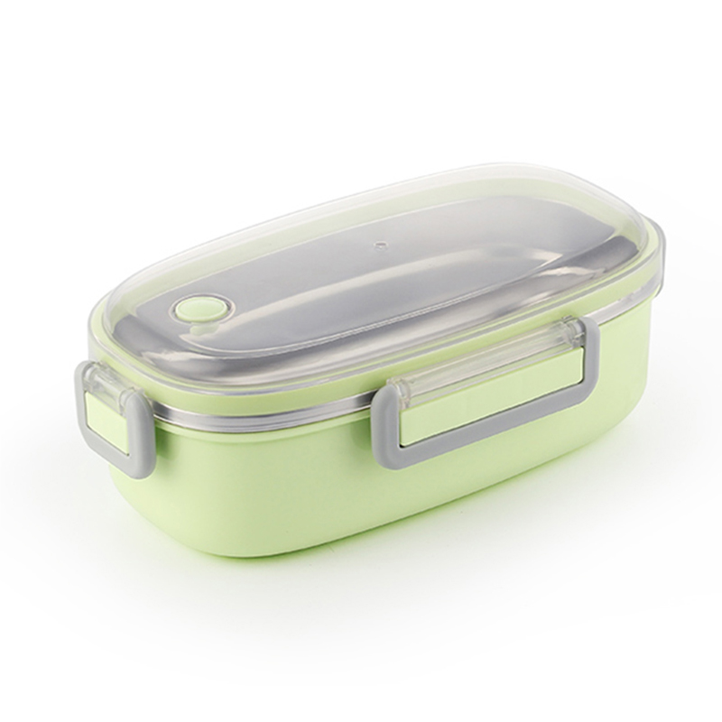 TUUTH Cute Lunch Box Stainless Steel Dinnerware Food Storage Container Children Kids School Office Portable Bento Box|Lunch Boxes| |  - title=