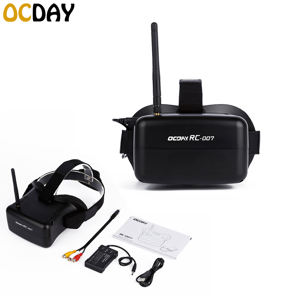 wholesale High quality 5.8G 40CH HD FPV Goggles 4.3 inch Video Glasses Headset For RC Camera Quadcopter Accessories new arrival 1 pair diy universal 7 inch fresnel lens 0 1mm spacing for hd projector fpv goggles headset