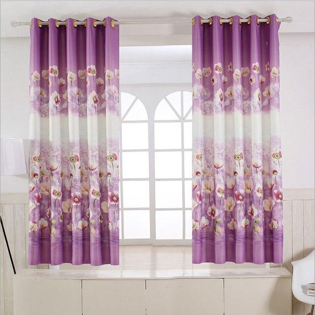 Pastoralen Rustikalen stil Floral vorhänge kurz küche Fenster ...
