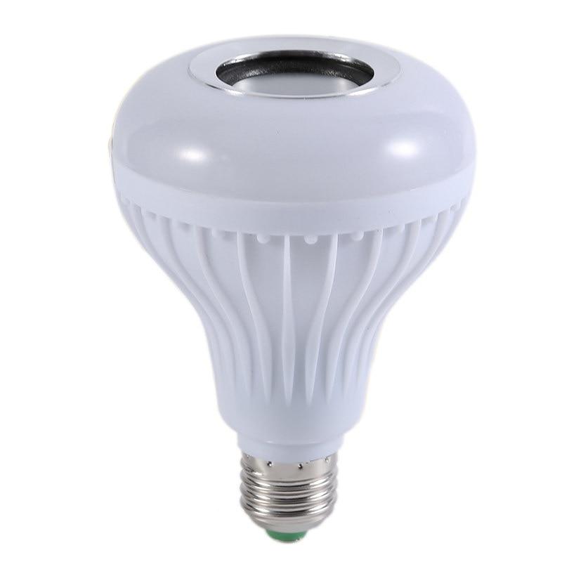 Wireless bluetooth speaker 12w rgb bulb e27 led lamp for Bluetooth bulb