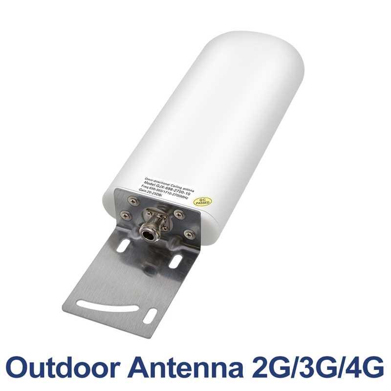 20-25Dbi 698-2700Mhz exterior 2G 3G 4G antena para repetir para enrutador de refuerzo antena repetidor 4G Lte Antena de módem #