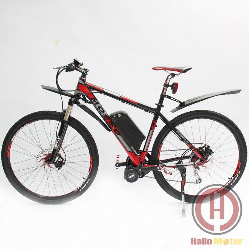 29inch electric bike 48v 750w mid drive motor ebike with for Mid motor electric bike