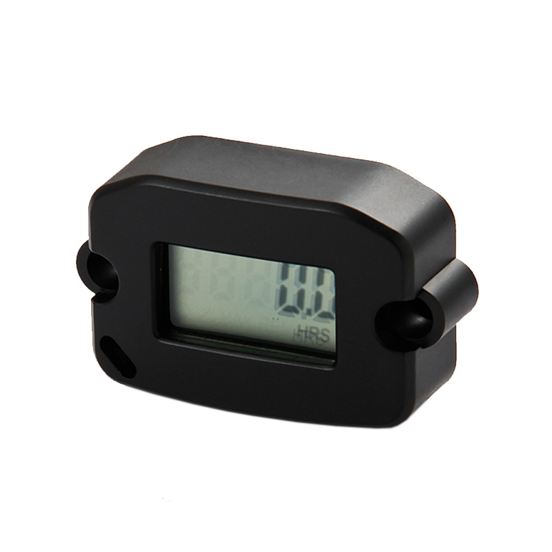 Free Shipping!Digital Inductive Tachometer Record RPM Hour Meter Used For Motorcycle,Generator,Boat,Marine,Jet Ski,Snowmobile