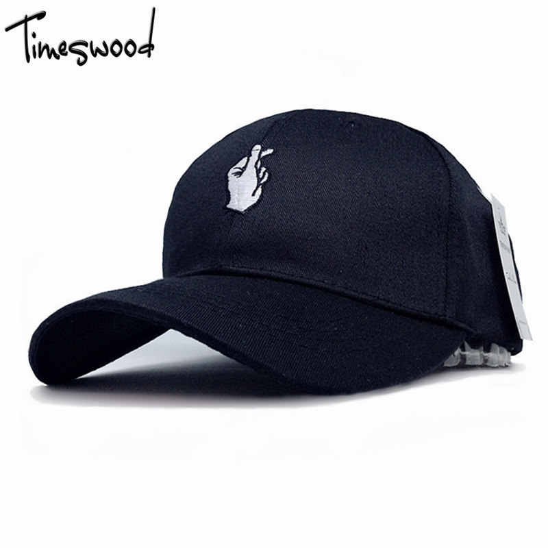[TiMESWOOD] 2017 New Fashion OK Gesture Styling Baseball Cap Hats Love Bones Adjust For Men Women Black Pink White Colors 2016 new new embroidered hold onto your friends casquette polos baseball cap strapback black white pink for men women cap