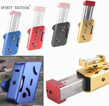 IPSC CNC-B modele kabura/złoty Airsoft Aluminium 360 stopni obrót etui magazyn dla Glock