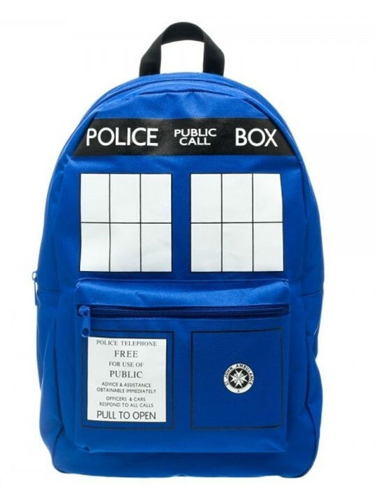 Doctor Who Doctor Who Tardis Buckle Slouch backpack-001