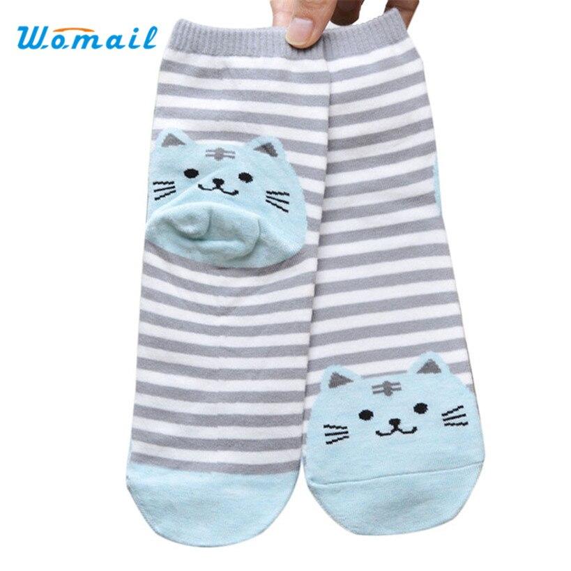 Dec 17 Amazing 1 Pair 3D Animals Striped Cartoon Cat s