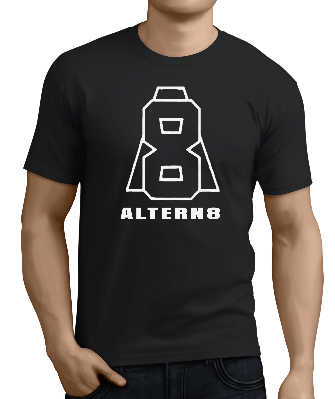 Altern-8, Oldschool Hardcore,Rave Music,1990S,Evapor8,Mark Archer,Electronic. 100% Cotton Fashion T Shirts Top Tee