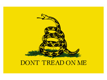 Free shipping 90*150cm 60*90cm 40*60cm 15*21cm Dont Tread on Me Banner 3*5 Feet Gadsden Flag Home Decoration