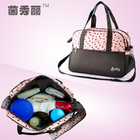 Insular Waterproof Mummy Nappy Bag Baby Diaper Changing Shoulder Bag Maternity Handbag Stroller Bag for Mother Baby Care 3 Color