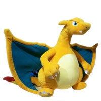 30 50cm Charizard plush toys kid doll for children gift soft cute anime pikachu Childhood memories Dragon toy