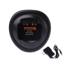 Frete grátis Carregador de Bateria de Rádio Para Motorola GP328 GP338 GP340 HT1250 PRO5150 Plug EUA