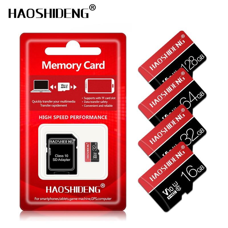 Newest Micro sd card 32GB 64GB 128GB Class 10 U3 U1 Microsd Memory Card 16GB Class 10 SDXC/SDHC mini TF Card free shipping-in Micro SD Cards from ...