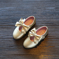 Размер 21-36 дети принцесса искусственная кожа лук девочки shoes девушки одеваются обуви весна осень детская одного shoes Корейский галстук