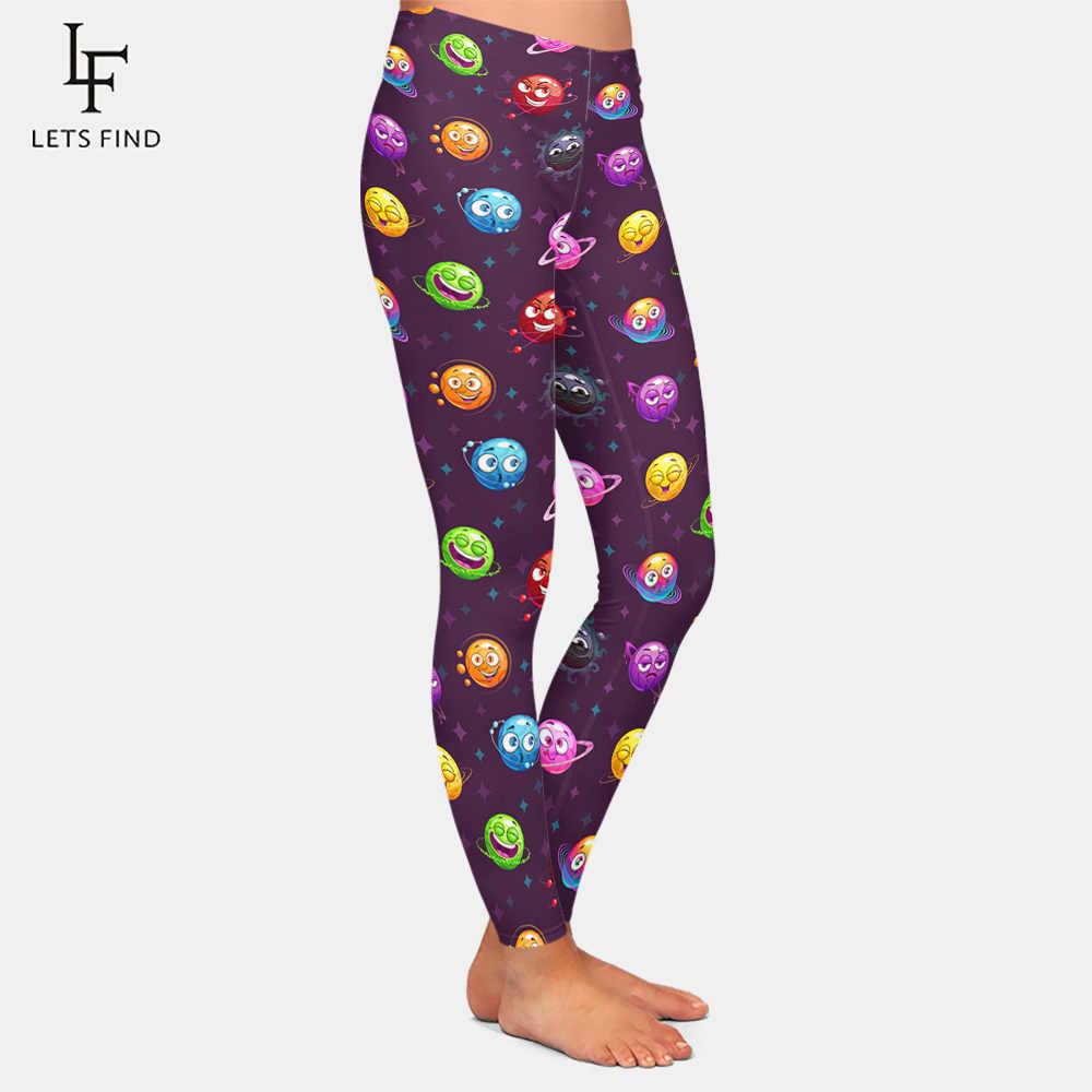 2019 modne legginsy Sexy Casual bardzo elastyczna i miękka ocieplacz na nogi Fit drukuj sportowe treningowe sportowe spodnie legginsy spodnie