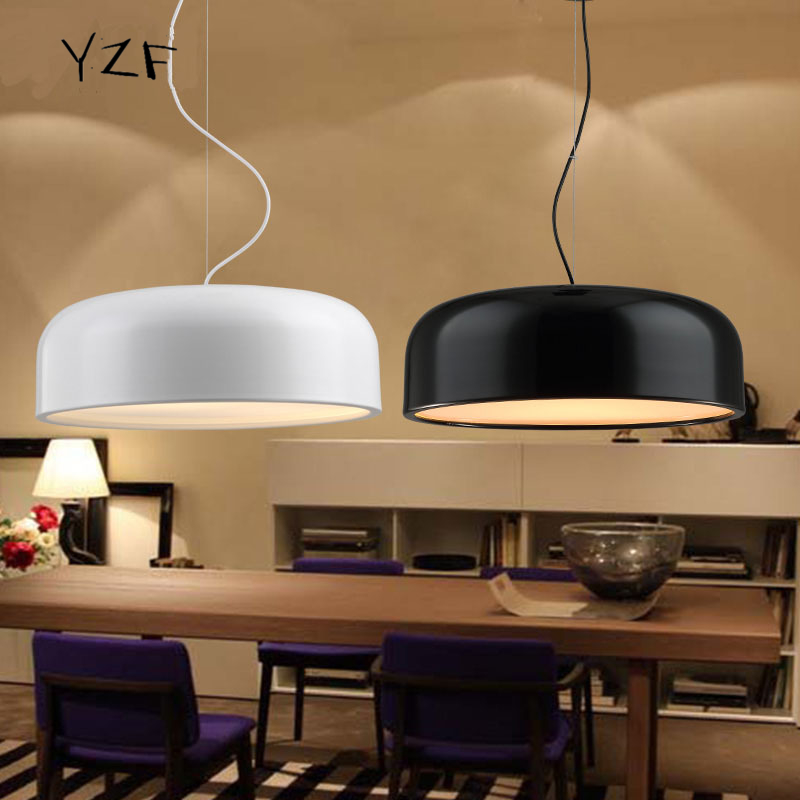 Nordic Simple Iron Pendant Light Modern Creative E27 3 Heads Pendant Lamp  For Restaurant Coffee Bar