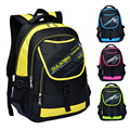 2014 News Children school bags children backpacks kids school bag Leisure waterproof bag Double shoulder bag