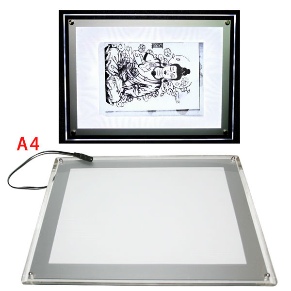 USB LED Tattoo Art Light Box Stencil paper Transfer Tracing Table tattoo light box stencil