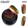 Elite99 Base Top Coat Chameleon Nails Gel Polish 3D Bling Effect UV LAMP Gel Varnish Nail Polish for Manicure Design