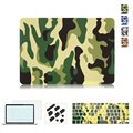 Camouflage Pattern Ultra Slim Light Weight Hard Case Cover for Apple MacBook Air 13 Pro Retina 13 15 inch Laptop Bag cases