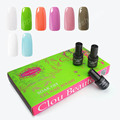 Clou Beaute 8 Colors 7ml Long Lasting SONP 017 Color UV Gel Nail Polish UV Gel Polish Remover