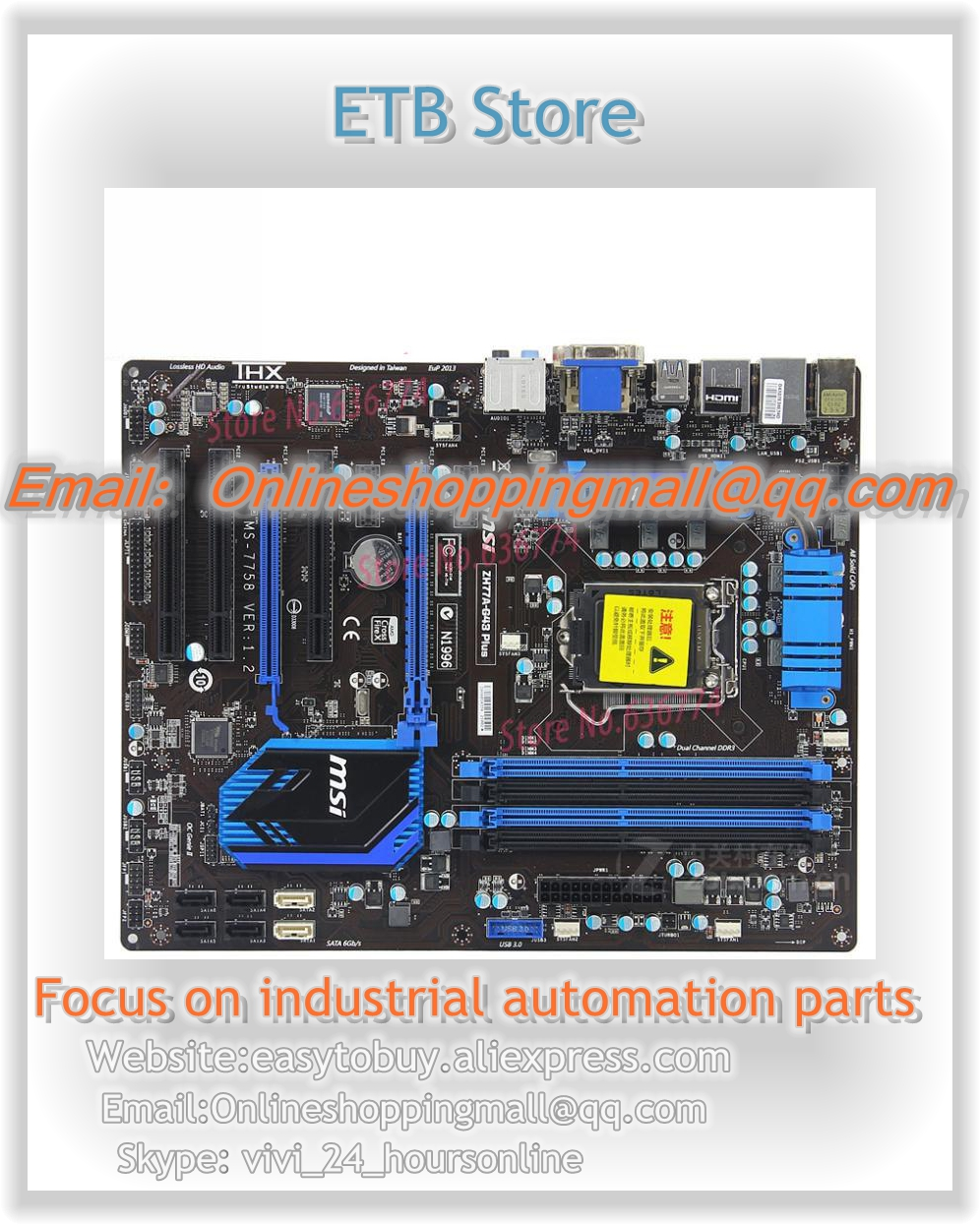 zh77a g43 Plus h77 Motherboard lga1155 LGA 1155 DDR3 Heatpipe I3 I5 I7 CPU 32GB USB3