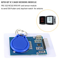 FRC-522 RC-522 IC Wireless Module SPI Writer Reader IC Card Sensor Kits For Arduino Proximity Key Chain Instrument Parts & Accessories