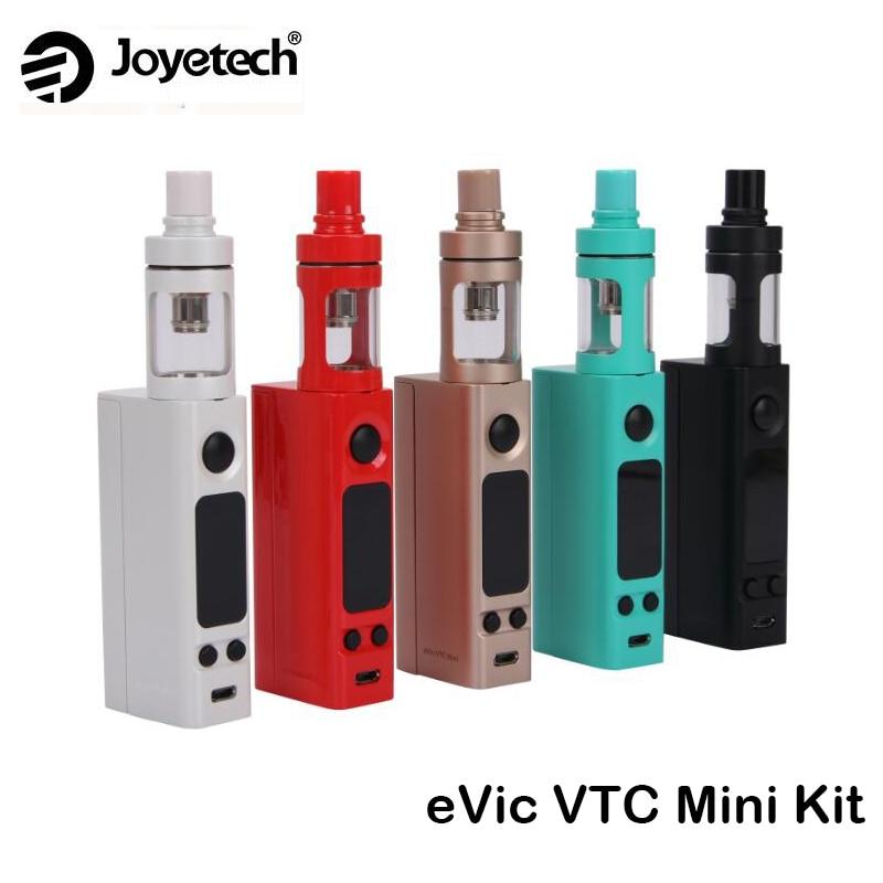 D'origine Joyetech eVic VTC Mini Kit eVic-VTC mini Boîte Mod Vaporisateur 75 w avec Cubis Atomiseur Cigarette Électronique vaporizador Kit