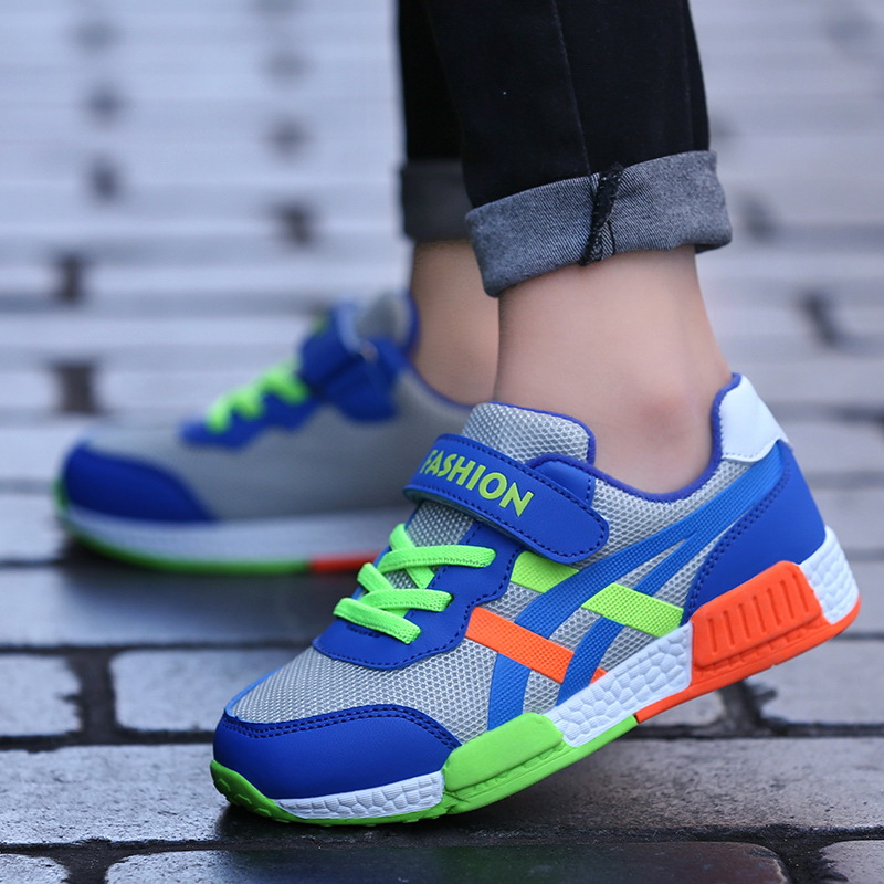 2019 spring new hollow mesh boy sports shoes in the big childrens campus breathable childrens shoes2019 spring new hollow mesh boy sports shoes in the big childrens campus breathable childrens shoes