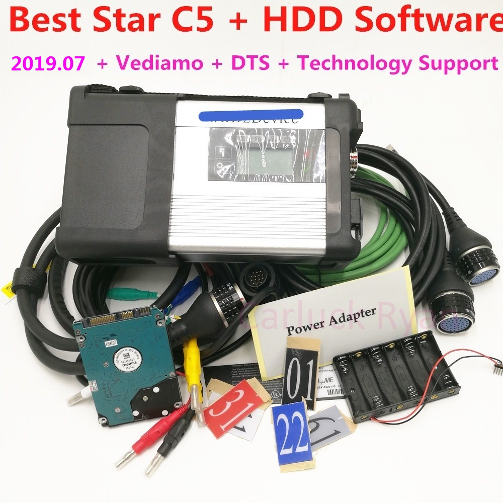 2019 Diagnostic Tool mb star c5 sd connect Wifi Diagnosis SD C5 Wireless Function with HDD