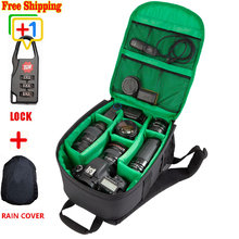 New Pattern DSLR Camera Bag Backpack Video Photo Bags For Camera d3200 d3100 d5200 d7100 Small Compact Camera Backpack Cz70
