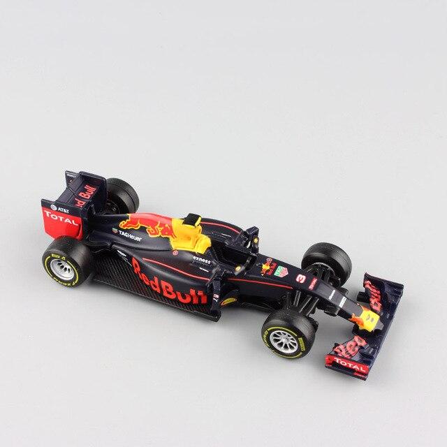 1/43 Escala 2016 fórmula 1 Red Bull Racing F1 TAG Henuer RB12 N ° 3 Daniel Ricciardo metal die cast brinquedos carros modelo para coleção