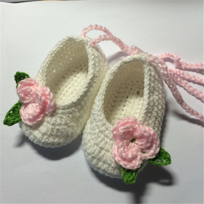 QYFLYXUEQYFLYXUE- New Summer Flowers Baby Shoes,baby Gladiator Shoes,Crochet Baby Booties Shoes Size: 9cm,10cm,11cm