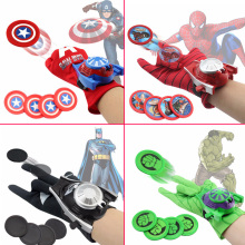 New Spiderman Glove Avengers Cosplay Gun Batman Launchers Super heroes Toy Heros Children Toys DS19