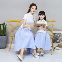 Fashion Photography Mom and Daughter Dress Mommy and Me Clothes Matching Dresses moeder dochter kleding mamma e figlia