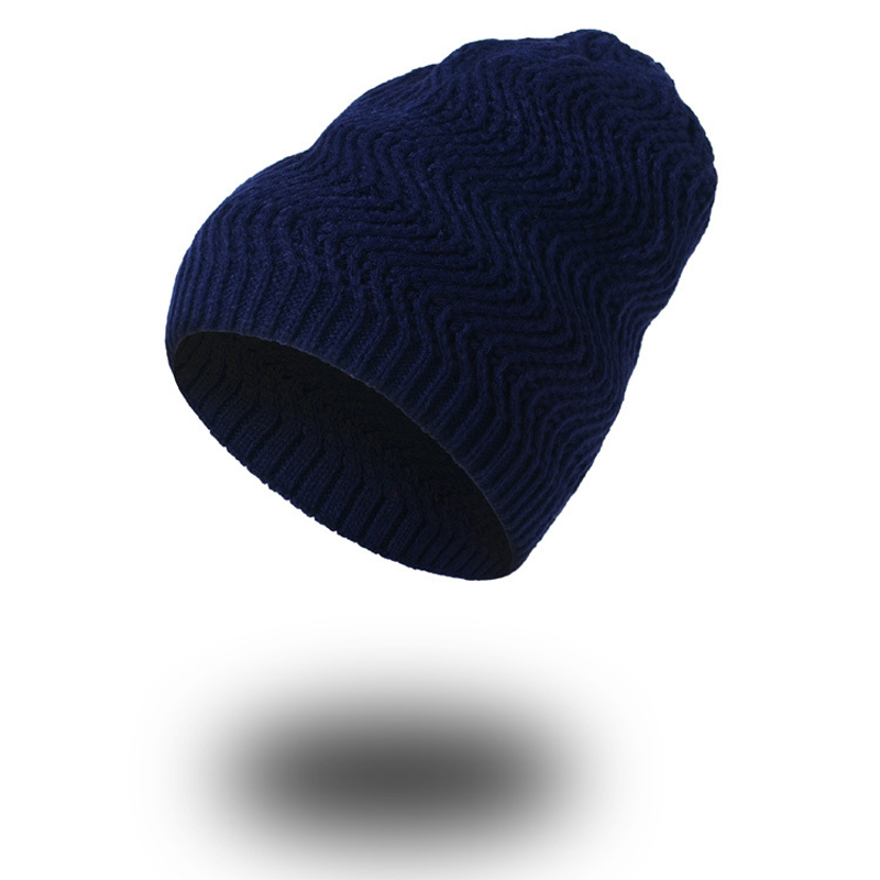 1pcsWoman's Warm Winter Cap Women Hats Knitted Beanie Hat for Men Gorros Casquette Homme Bonnet Femme Beanie Skullies Baggy Caps 2017 top fashion promotion adult winter caps bonnet femme warm ski knitted crochet baggy beanie hat skullies cap hiphop hats