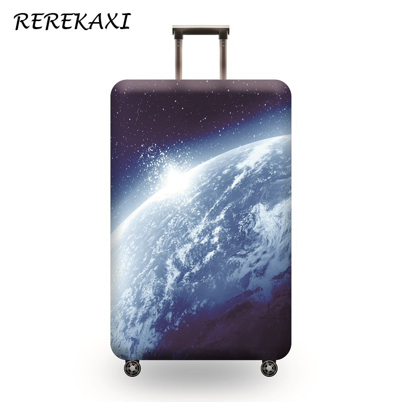 Starry Sky Luggage Cover 18-32 Inch Suitcase Baggage Elastic Protective Covers Trolley Dust Case Cover Travel Accessories