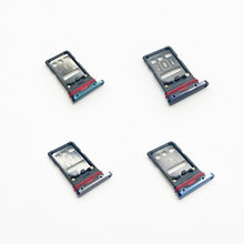 10pcs/lot Sim Card Slot Tray Holder For Huawei Mate 20 Pro LYA-AL00 / Mate 20 X Sim Socket Adapter Replacement Parts(China)