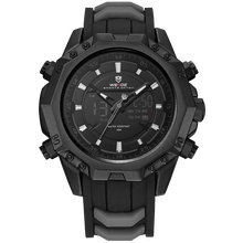 WEIDE 6406 Mens Quartz Watches Top Brand Luxury Alarm Clock Waterproof Sport Wristwatch Analog Digital Automatic LCD Watch Man