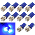 Tiptop New 10pcs T10 Wedge 5-SMD 5050 Xenon LED Light bulbs 192 168 194 W5W 2825 158 SEP 6