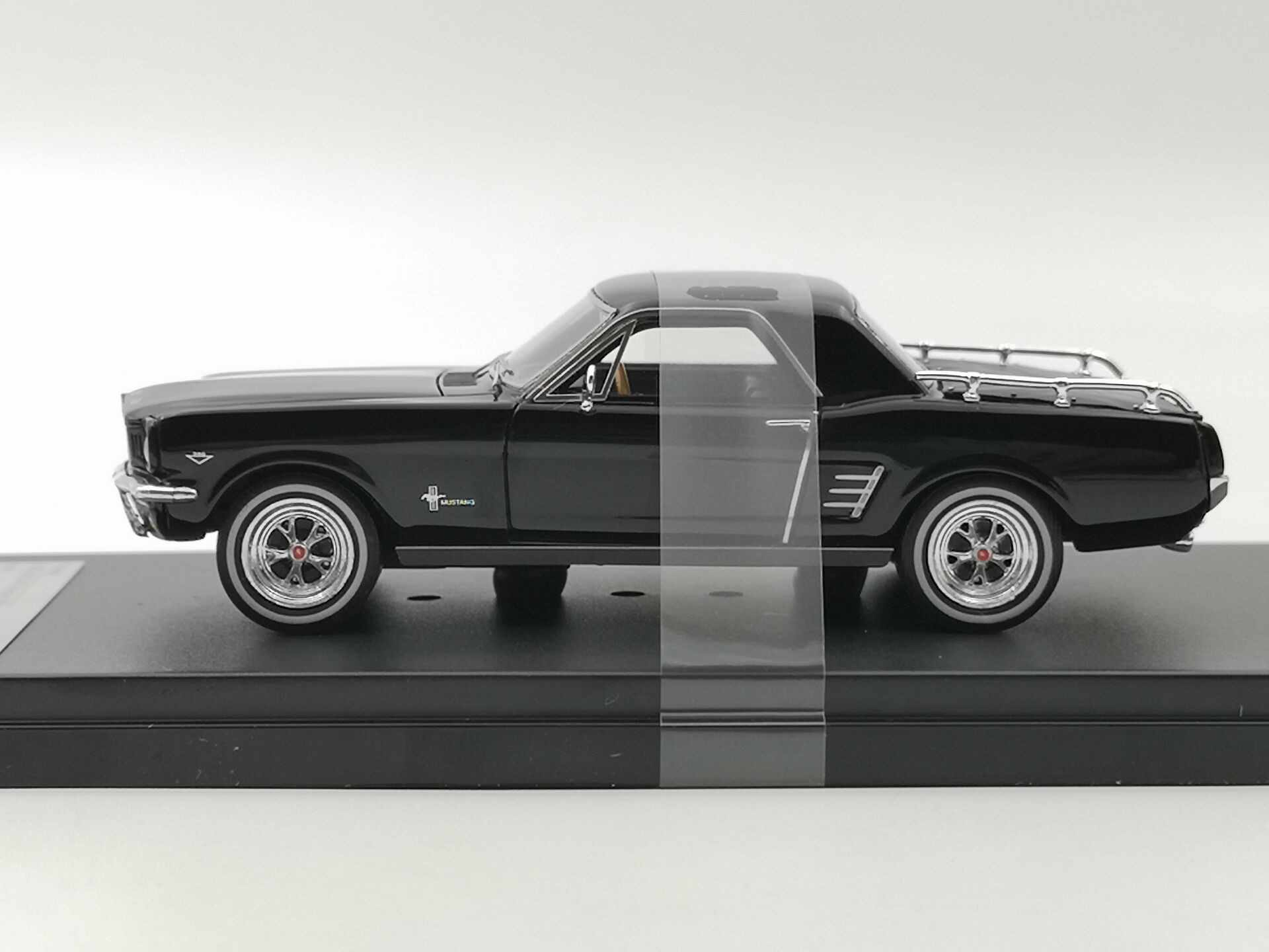 Premium x 143 ford mustang mustero 1966 boutique alloy resin model car toys