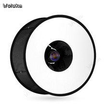 Ring light box 45cm speedlight softbox flash diffuser foldable soft cover studio small photography light box macro eyes CD50 T10(China)