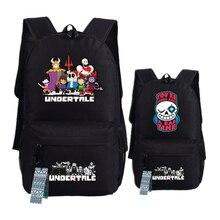 Spiel Undertale Frisk/Toriel/Sans pixel Skeleton Druck Weibliche Rucksack Leinwand Schultaschen für Jugendliche Sommer Laptop Rucksack